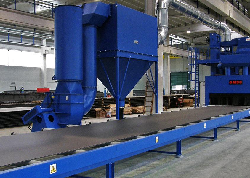 Automatyczne śrutownice turbinowe
